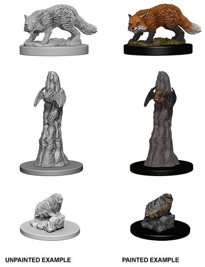 Pathfinder Deep Cuts Unpainted Miniatures - Familiars