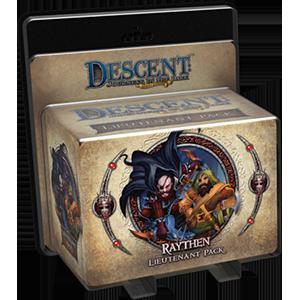 Descent: Journeys in the Dark (Second Edition) – Raythen Lieutenant Pack