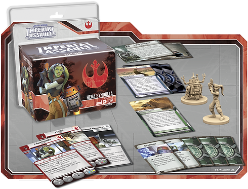Star Wars Imperial Assault: Ally Pack - Hera and C1-10P (Exp)