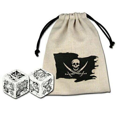 Pirate Dice (2) + Bag