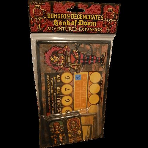 Dungeon Degenerates: Hand of Doom - Adventurer Expansion