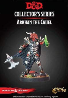 D&D Collector's Series - Arkhan the Cruel Dragonborn New Sculpt with Necro Hand