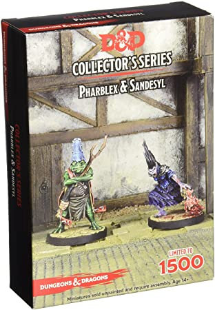 D&D Collectors Series Tyranny of the Dragons- Sandesyl & Pharblex