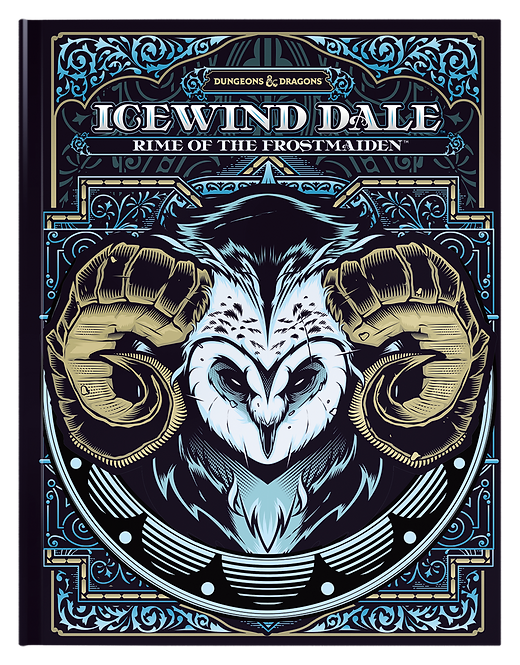 Icewind Dale: Rime of the Frostmaiden Limited Edition Alternate Cover