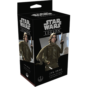 Star Wars: Legion – Jyn Erso Commander exp.