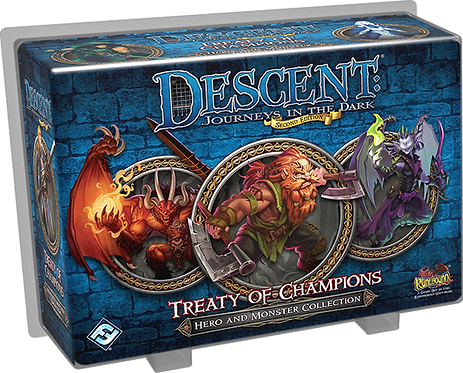 Descent: Journeys in the Dark (2nd Edition) - Treaty of Champions (Exp)