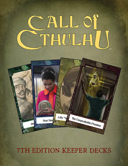 Call of Cthulhu 7th Edition - Keeper Decks
