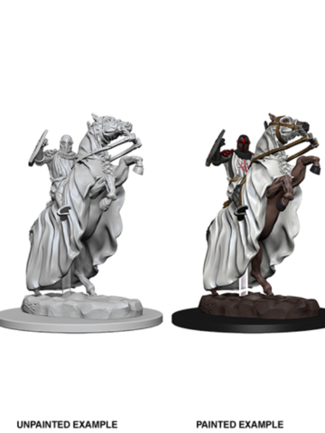 Pathfinder Deep Cuts Unpainted Miniatures - Knight on Horse