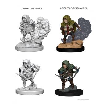 D&D Nolzur's Marvelous Unpainted Miniatures - Halfling Male Rogue