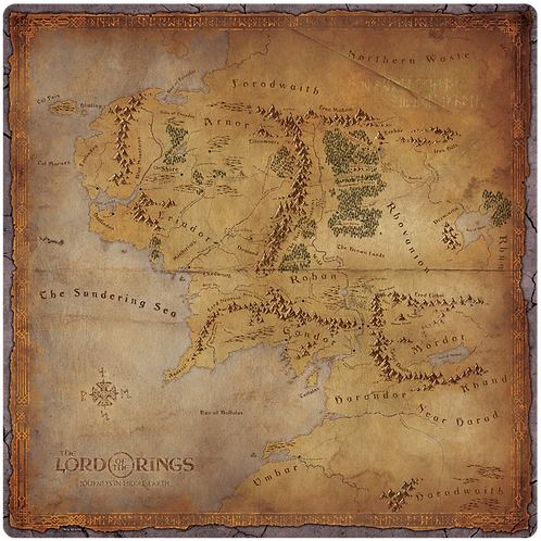 The Lord of the Rings: Journeys in Middle-Earth - Gamemat