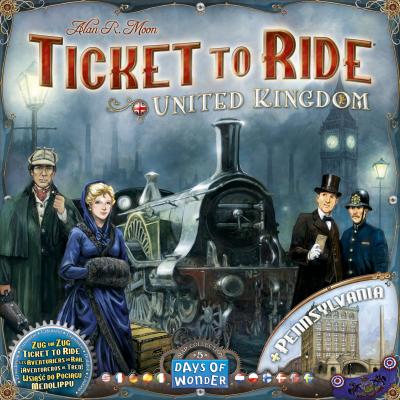 Ticket To Ride: United Kingdom - Pennsylvania