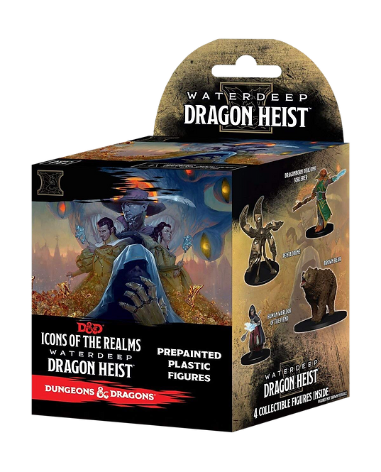 D&D Icons of the Realms Waterdeep Dragon Heist (Standard) D&D, Booster