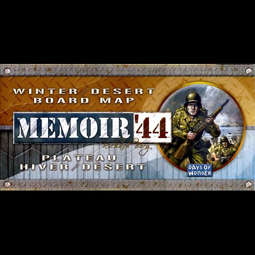 Memoir '44: Winter/Desert Board Map (Exp.)
