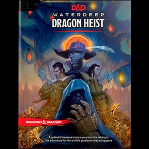 D&D 5.0 - Waterdeep Dragon Heist Book