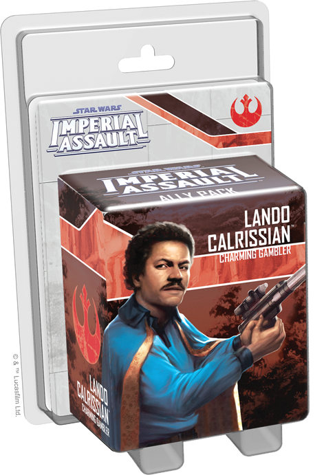 Star Wars: Imperial Assault - Ally Pack - Lando Calrissian (Exp.)