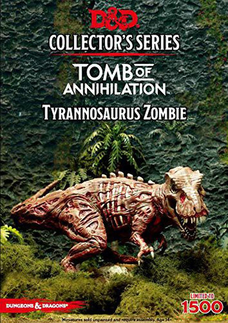 Dungeons Dragons Collector's Series Tomb of Annihilation Tyrannosaurus Zombie