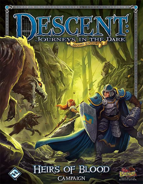 Descent: Journeys in the Dark (Second Edition) – Heirs of Blood