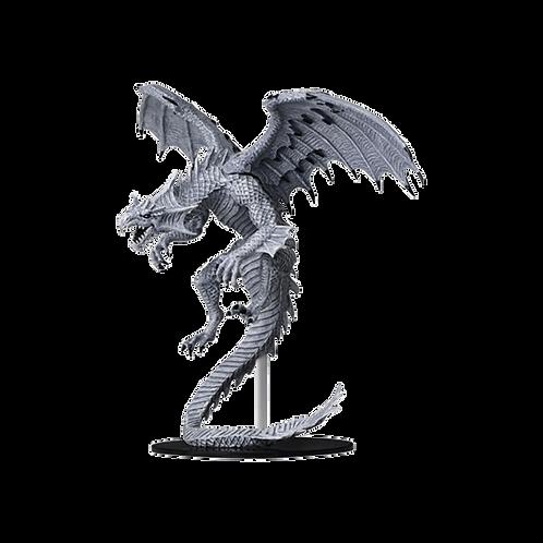 Pathfinder Deep Cuts Unpainted Miniatures: Gargantuan White Dragon