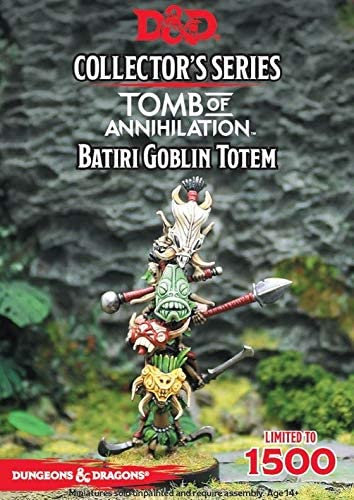 Dungeons Dragons Collector's Series Tomb of Annihilation-Batiri Goblin Totem