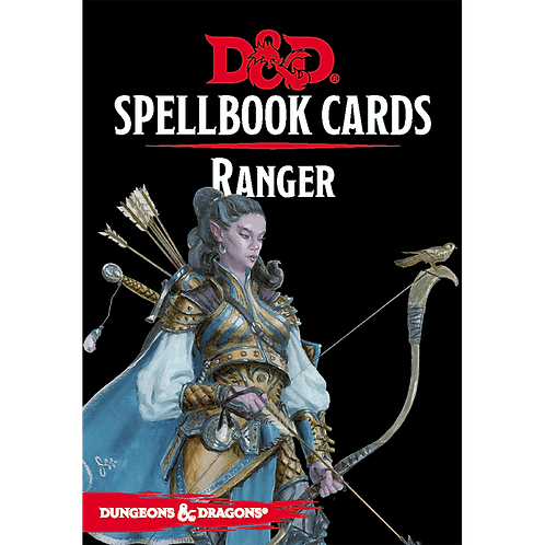 Dungeons and Dragons: Spellbook Cards - Ranger