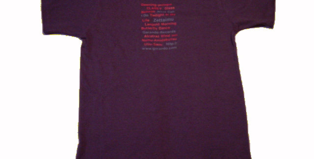 "2003 ""WHAT CAN I DO"" ALBUM T-SHIRT"