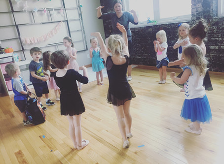 Mini Movers Summer Camp: An Educational Approach to Teaching Young Dancers