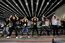 Tedx 2014 audience dancing