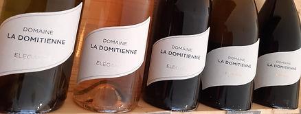 vins domaine la domitienne igp oc chardonnay viognier cabernet grenache syrah languedoc roussillon sauvian