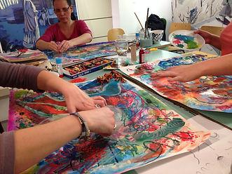 Tamar Swartz art facilitator