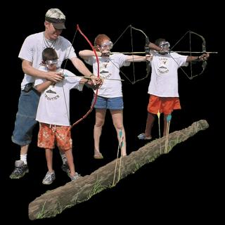 Archery at Florida OverNight Summer Camp
