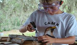 Wood Working at Florida Overnight Summer