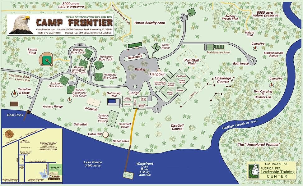 CF Campus Map 2019