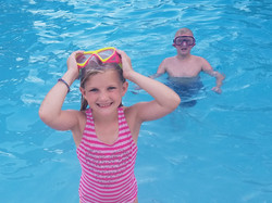 Swimming Pool at Florida Overnight Summe