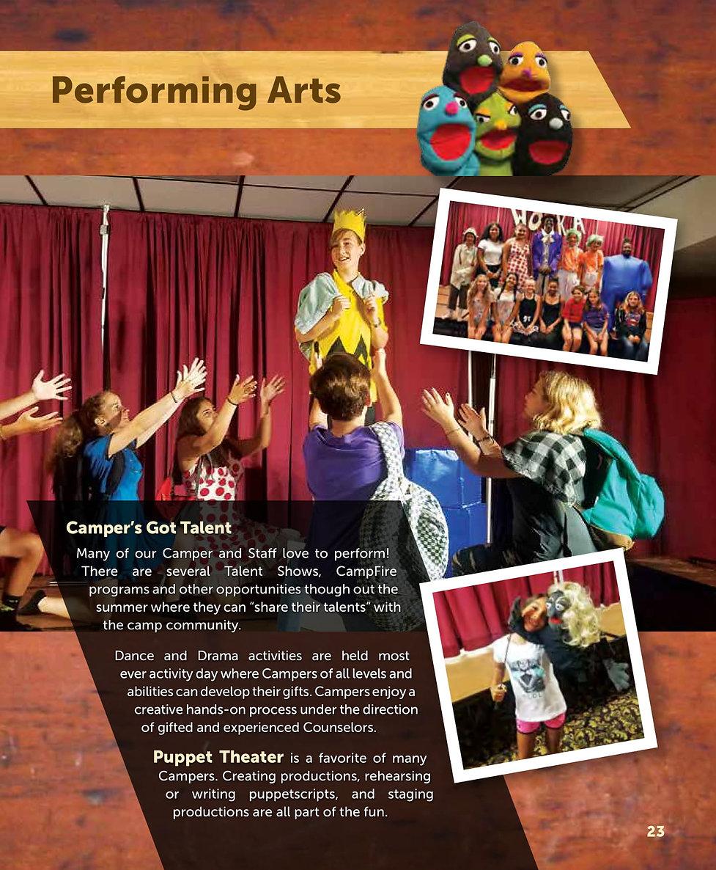 2019 Packet p 23 Performing Arts