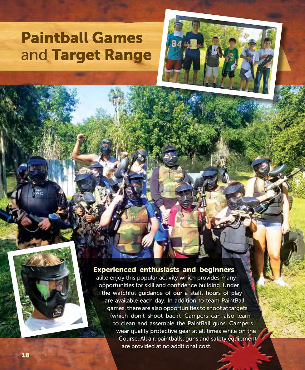 2019 Packet p 18 Paintball Marksmanship-