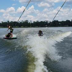 WaterSki and WakeBoard Program
