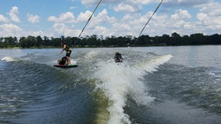 WaterSki at Florida Overnight Summer Cam