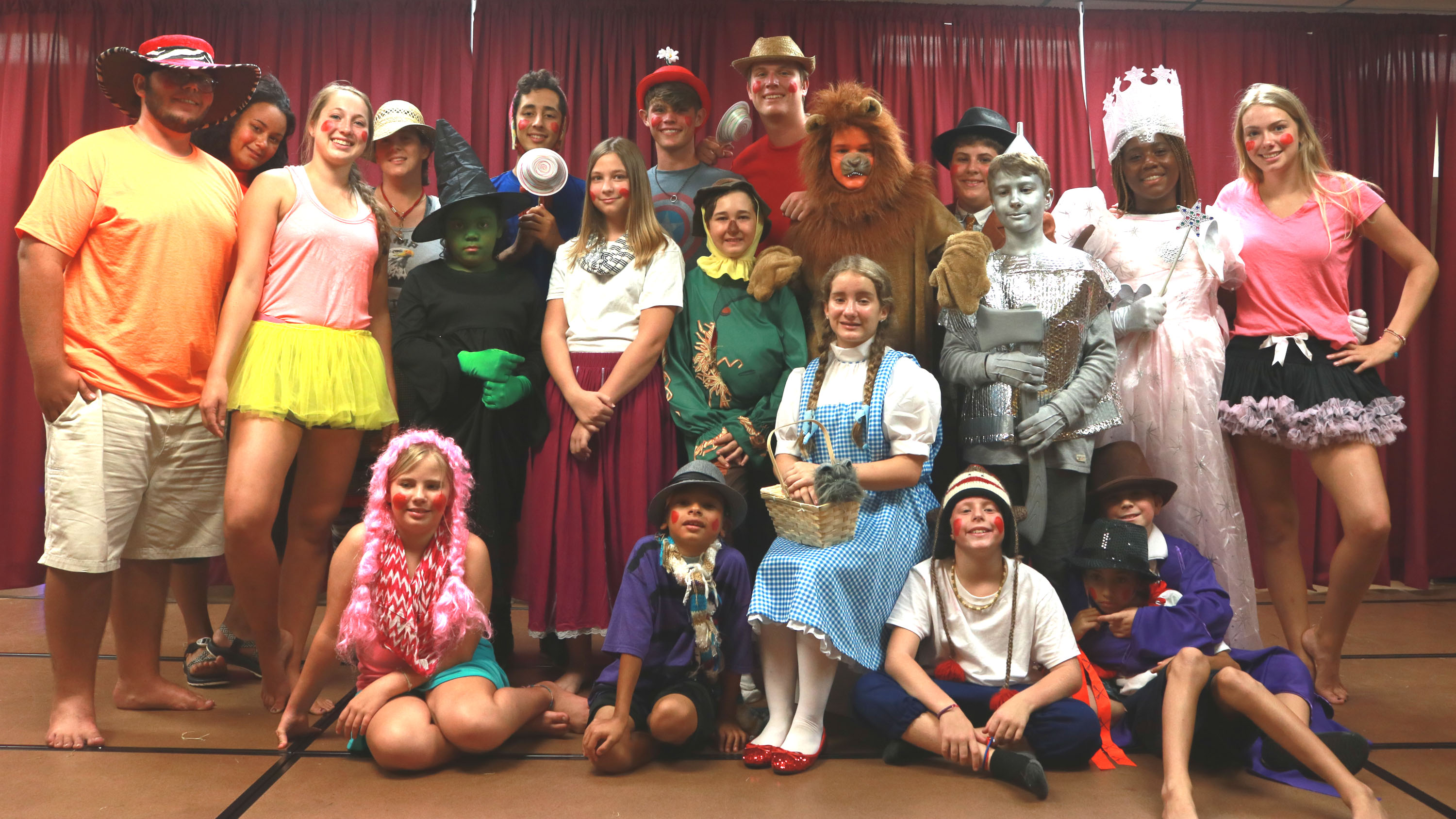 Wizard Of Oz Producton at Florida OverNi