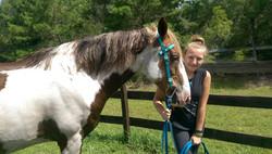 Horses at Florida OverNight Summer Camp