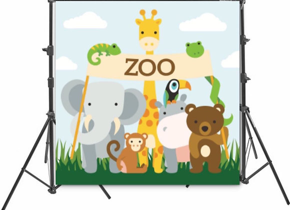 Zoo Backdrop
