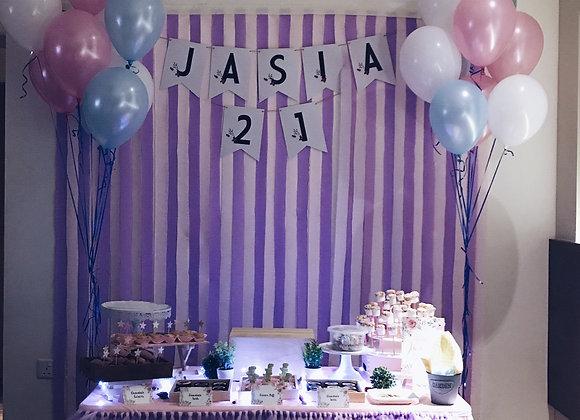 Purple Pink Table Tutu