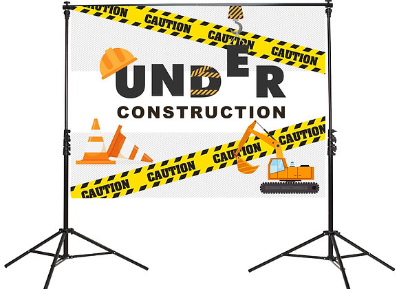 Construction Backdrop