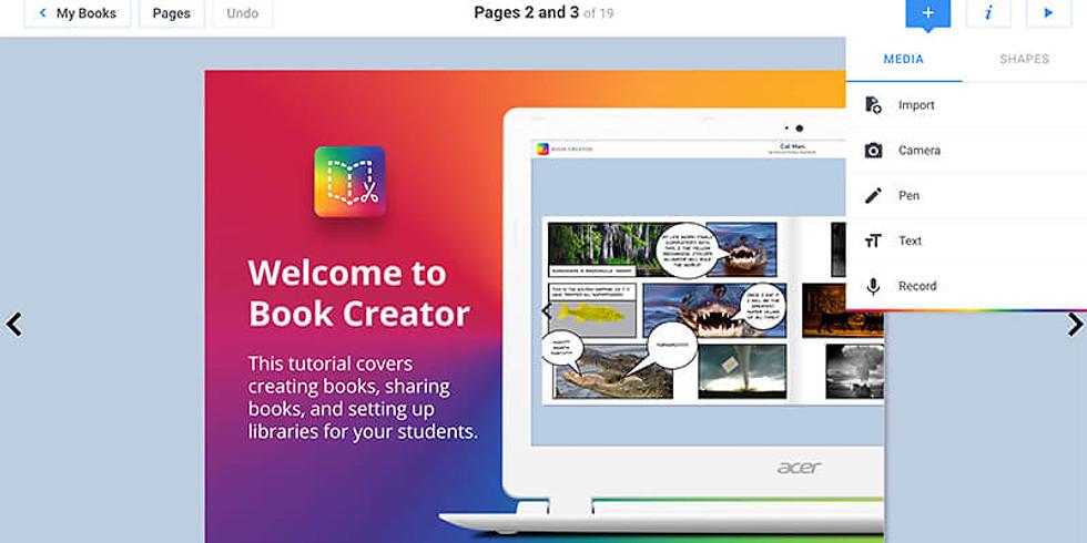 DigiTech by Design Book Creator Session (Ararira Springs Primary)