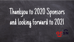Thankyou to 2020 Sponsors and looking forward to 2021