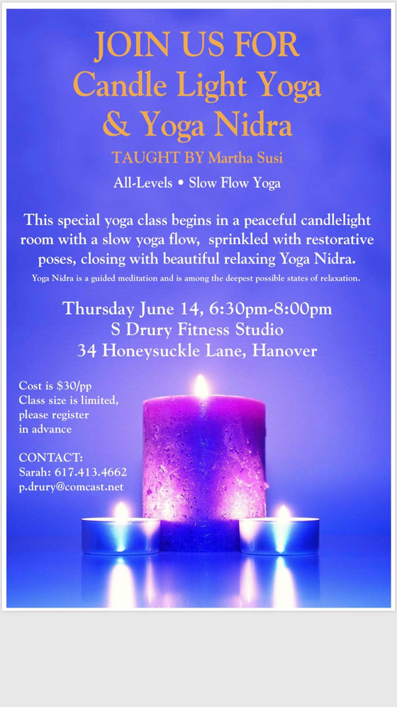 Candle Light Yoga & Yoga Nidra