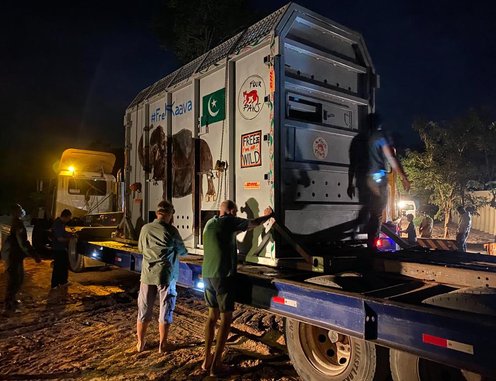 Kaavan arrives in Cambodia