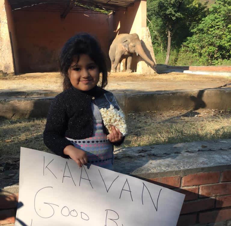Little Muryum says goodbye to Kaavan
