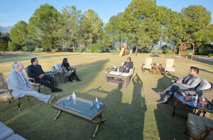 Meeting with Pakistan's Prime Minister, Imran Khan