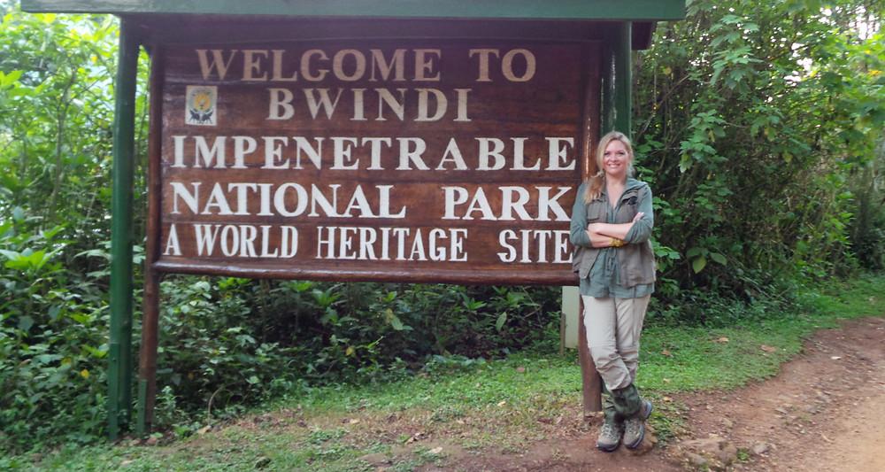 Gina Nelthorpe-Cowne, Uganda.
