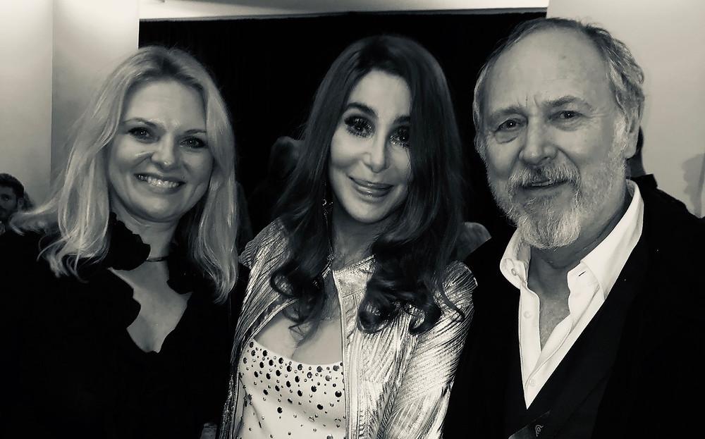 Cher, Mark and Gina Nelthorpe-Cowne